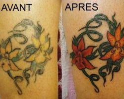 Tatouage Theme Peau - Chalonnes-sur-Loire - RECOUVREMENT